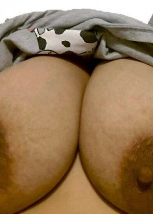 Tits of a Mexican woman