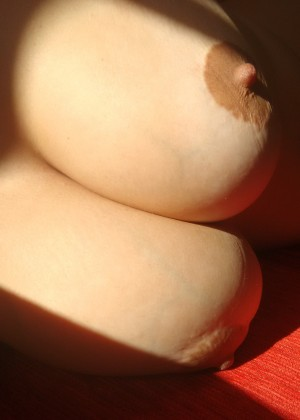 Brown nipple close-up