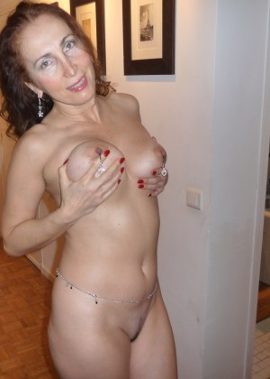 Satisfied mature woman