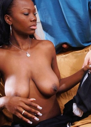 French fucked African woman
