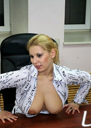 Naked secretary Lyuba