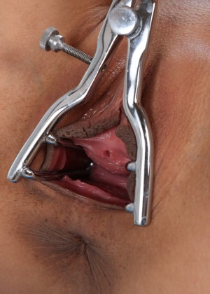 Pissing Screaming Chick Uses Dick And Speculum 1