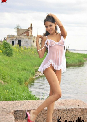 One of the most beautiful Russian erotic models of Kamilla