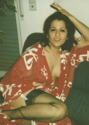 Retro photo of Turkish wife
