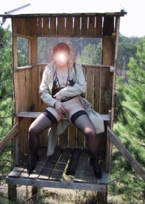 Austrian makes an enema in nature