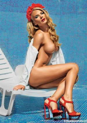 Nelly Georgieva playboy model from Bulgaria