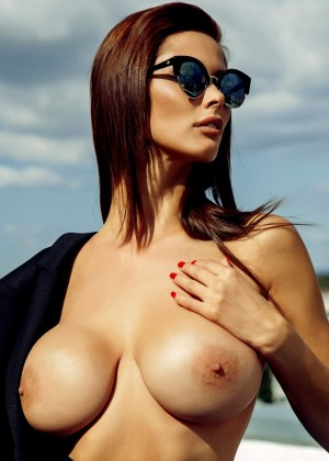 Bulgarian Bilyana Evgenieva for playboy