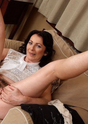 Mature latvian Anna with a hairy pussy and armpits