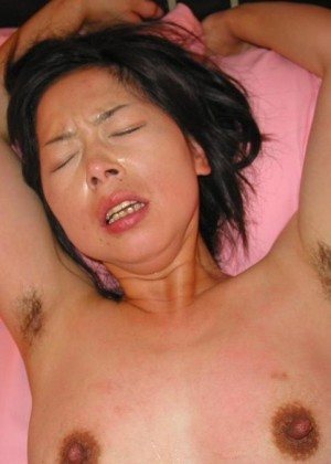 Hairy armpits of Chinese women