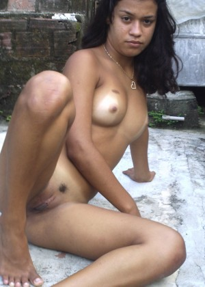 Young nude Hispanic