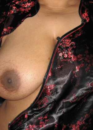 Big tits of a plump pakistani wife