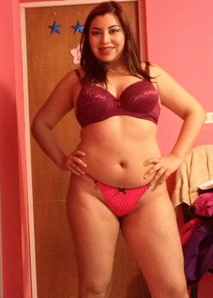 Plump Mature Mexican in Underwear