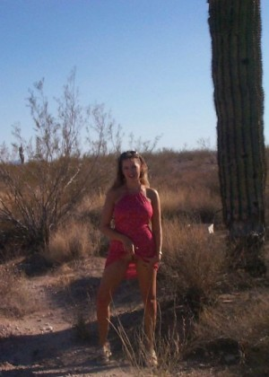 A lascivious woman from Arizona has a large collection of dildos