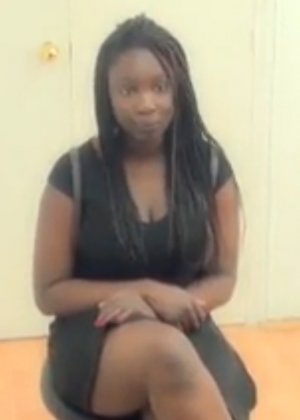 Nigerian Chanel came to porn casting