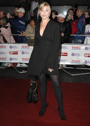 TV celebrities from UK Samantha Janus