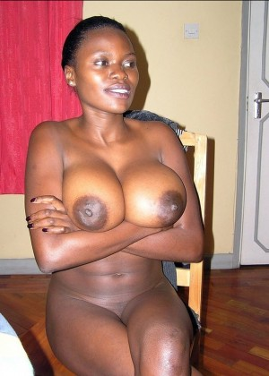 A prostitute from Uganda with amazing tits