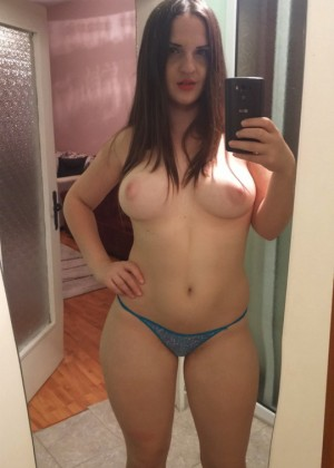 Chubby girl is ready to act in porn